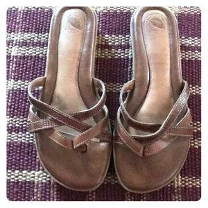 Nurture Brown Sandals - Size 6.5